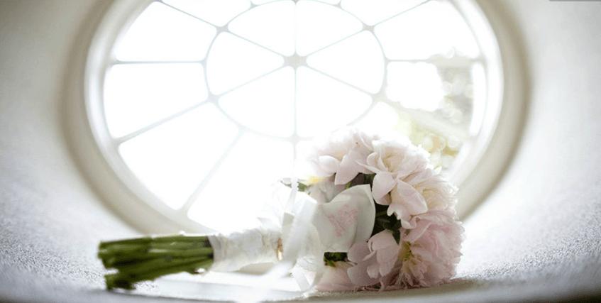 Beispiel: Hochzeitsfloristik, Foto: La Deko.