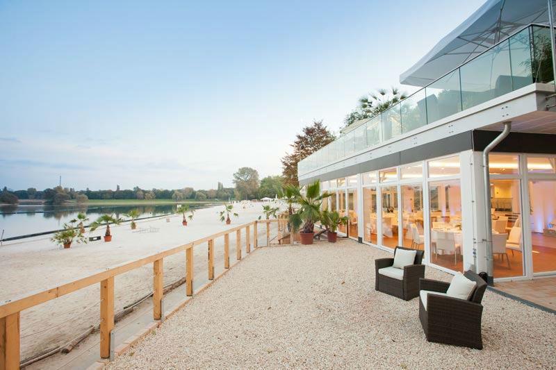 Beispiel: Terrasse, Foto: Seepavillon.