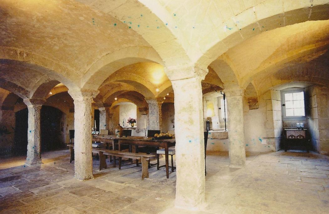 Salle de reception du Château du bois de Sanzay
