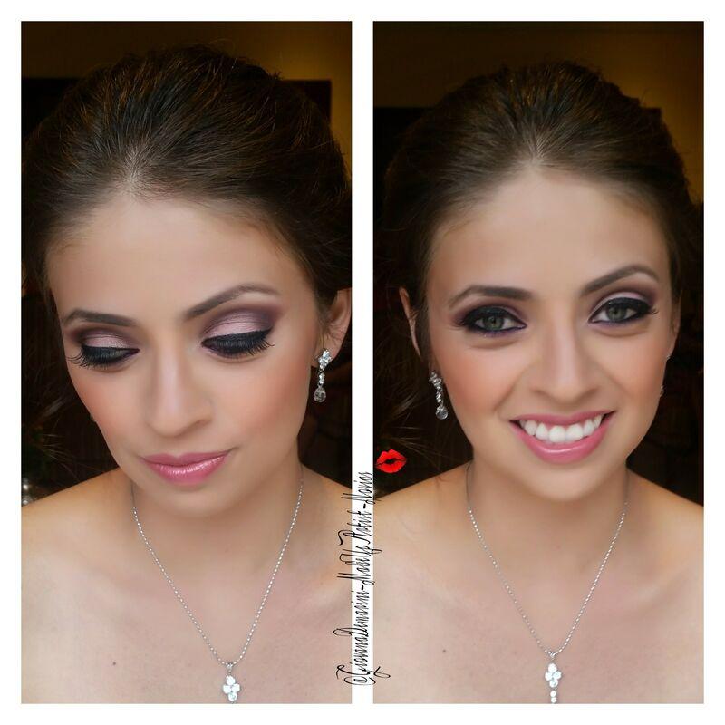 Maquillaje y Peinado Novia  (Boda Religiosa)