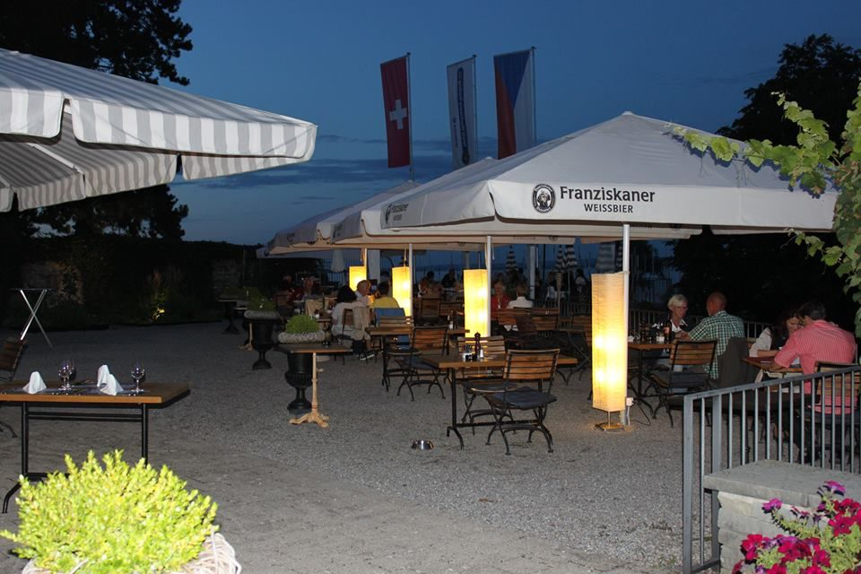 Beispiel: Terrasse, Foto: Schloss Romanshorn (TriBeCa).