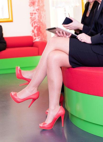 Beispiel: Strahlend schöne Beine, Foto: Wax in the City.