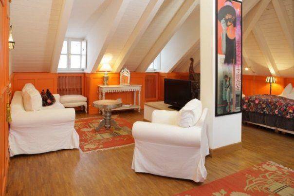Beispiel: Doppelzimmer modern, Foto: Orphée.