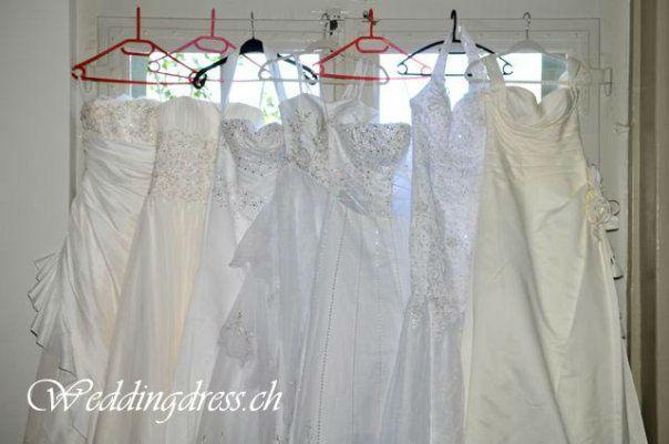 Beispiel: Brautmode zum Wohlfühlen, Foto: Weddingdress.ch.
