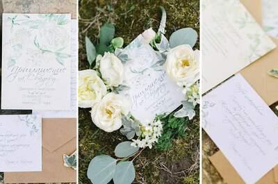 Darya Ilnitskaya - душевная свадебная полиграфия