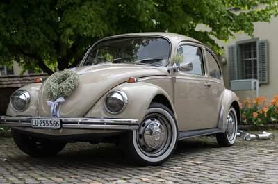Magra's Hochzeitsauto - VW Käfer :-)