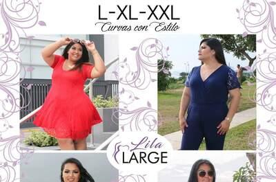 Lila Large Moda