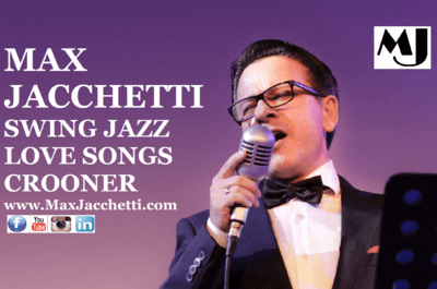 MAX JACCHETTI Swing Jazz Love Songs Crooner