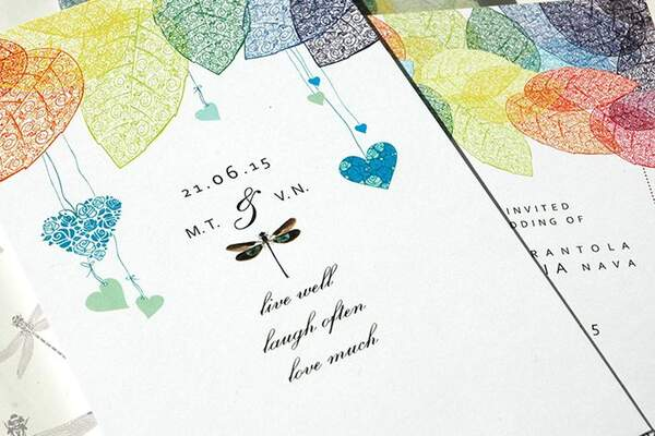 DiZeta Creative Wedding Invitation