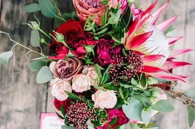 Flowers to wedding