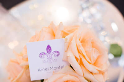 Amel Montel Wedding design