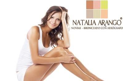 Natalia Arango Bronceado con Aerógrafo
