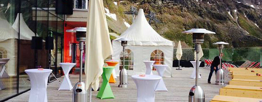 Beispiel: Eventlocation, Foto: Adler Lounge
