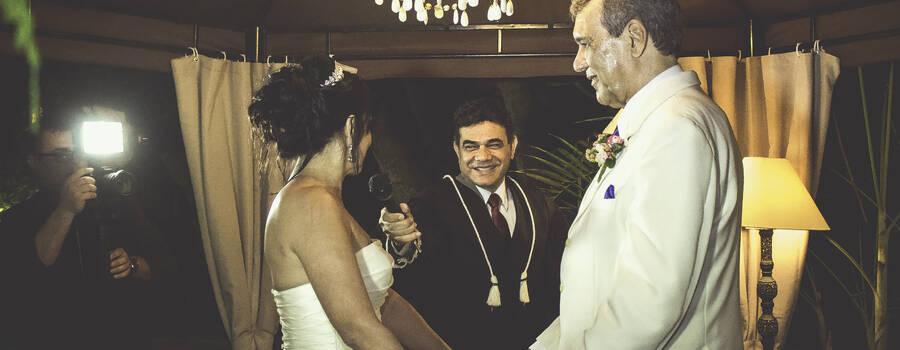 Juiz de Paz e Celebrante Roberto Moyses