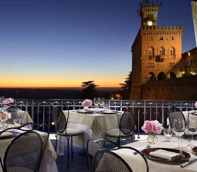 Grand Hotel San Marino - Ristorante LA Terrazza