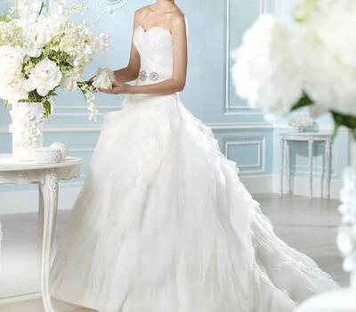 Beispiel: Brautmode San Patrick, Foto: Brautmode Svetlana.