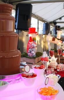 Mesas dulces y fuentes de chocolate únicas en nuestra ciudad. Endulzando  más si cabe, los grandes momentos