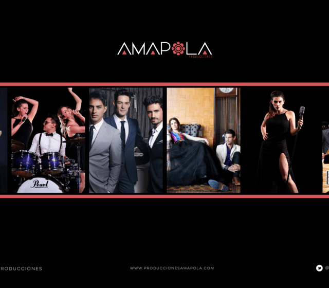 www.produccionesamapola.com FB: Amapola Producciones Mx  TWITTER: @Amapola_Pro INSTAGRAM: AmapolaProduccionesMx