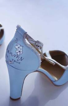 Decoración Zapatos Novia