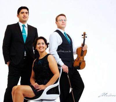 Trio Toque de Classe. Foto: Adriano Moura