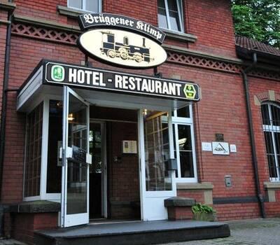 Beispiel: Eingang, Foto: AKZENT Hotel Brüggener Klimp.
