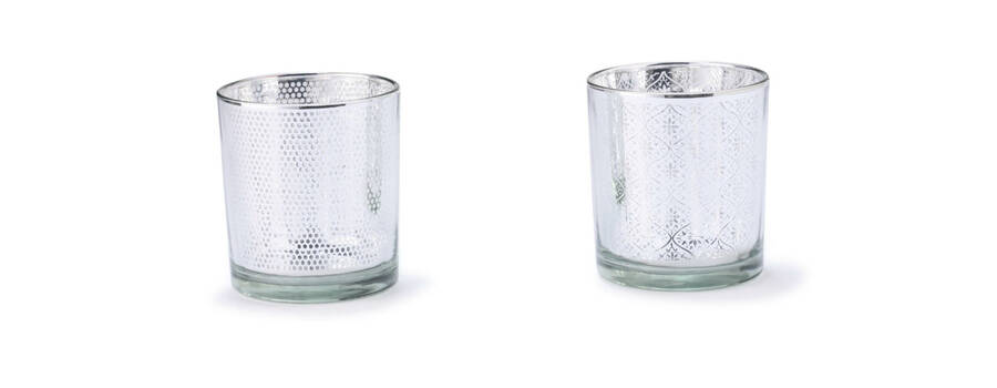 Castiçal Niort Silver_ 8 cm altura