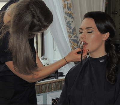 Make up bride