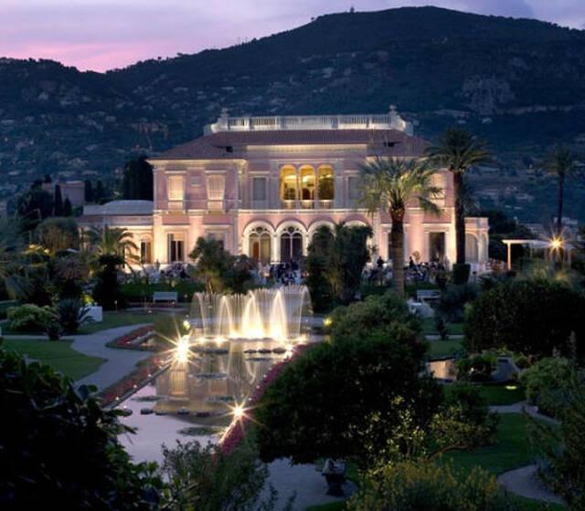 Villa Ephrussi de Rothschild de nuit