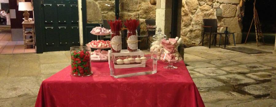 Mesas dulces en todos los tamaños