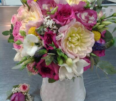 Autrement Fleurs - Bouquet de mariée & Boutonnière
