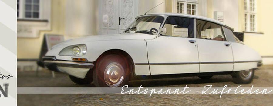 Entspannt | Zufrieden | Sicher Foto: Hochzeitsautos Berlin.