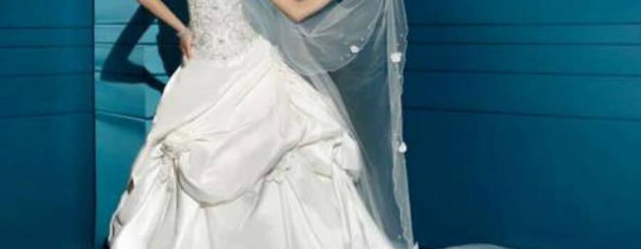 Beispiel: Brautmode mit Stil, Foto: Traum Braut.
