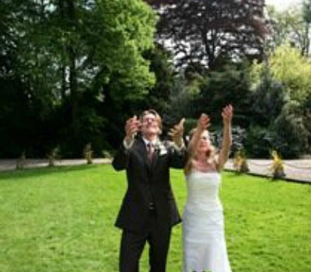 Beispiel: Hochzeitstauben, Foto: Ihre Hochzeitstauben.