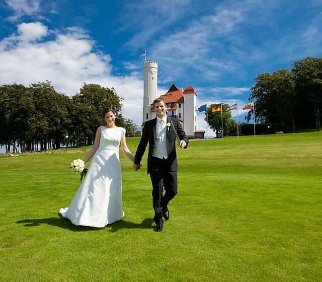 Beispiel: Brautpaar, Foto: Hotel Schloss Ranzow.