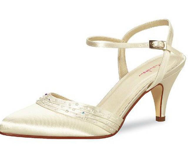 Beispiel: Der elegante Brautschuh, Foto: La Passion Schuhe.