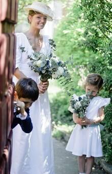 cortège et mariée