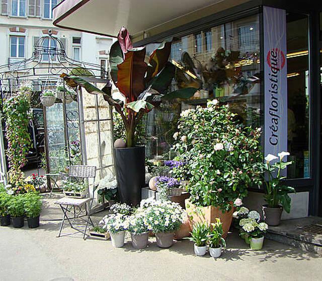 Beispiel: Das Geschäft: Tauchen Sie ein in die Vielfalt der Kreationen, Foto: Créafloristique.