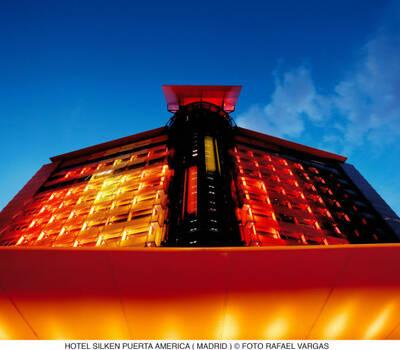 Hotel Silken Puerta América. Foto: Rafael Vargas.