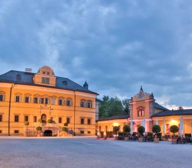 Schloss Hellbrunn- vor 400 Jahren von Markus Sittikus erbaut worden
