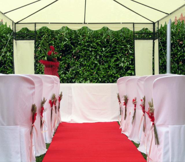 Ceremonia jardines