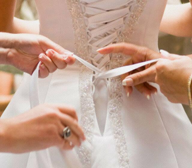 Beispiel: Betreuung an Ihrem großen Tag, Foto: Hochzeitstraum.