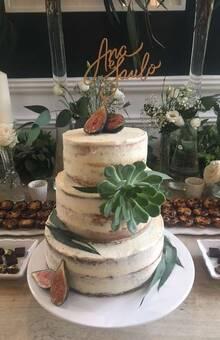Naked cake con higos