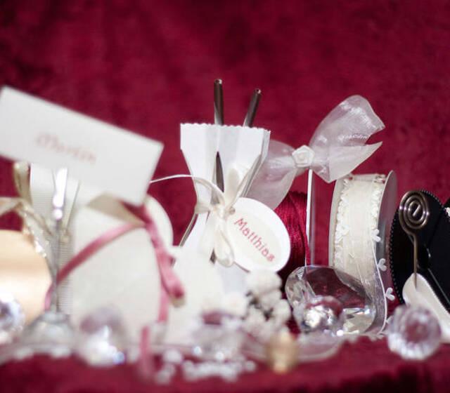 Beispiel: Gastgeschenke, Foto: Kreone.