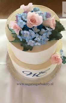 Detailed floral arrangement