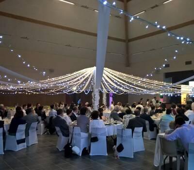 décoration led mariage 360ml de guirlande