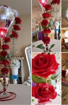 vase martini - thème amour