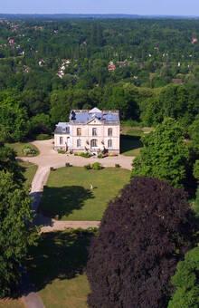 Vue du ciel - Château Bouret