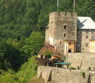 Beispiel: Außenansicht, Foto: Burg Deutschlandsberg.