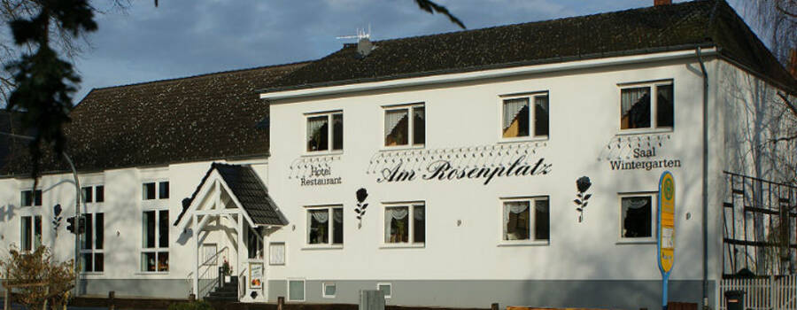 Beispiel: Vorderansicht, Foto: Hotel am Rosenplatz.