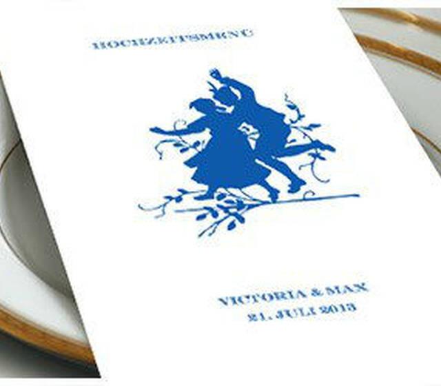 Beispiel: Hochzeitseinladung, Foto: Prantl Online Shop.
